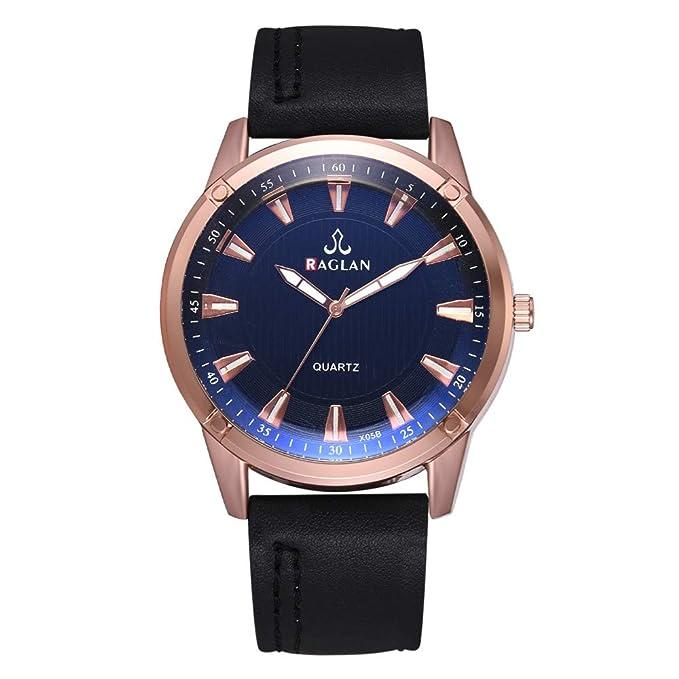 Longra Relojes para Hombre a la Venta Reloj de Cuarzo, Reloj de ...