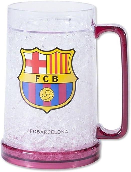 FC Barcelona Official Football Gift Glass Tankard