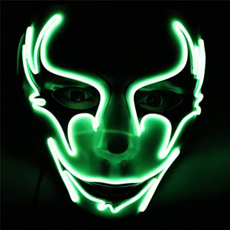 Amazon.com: GEDASHU Halloween mask Halloween Mask Masquerade ...