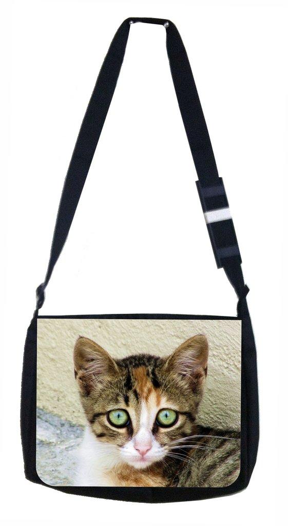 Shy Kitty Lea Elliot TM School Messenger Bag