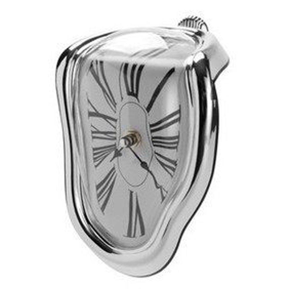 DRM Reloj de Pared derretido/Reloj de Pared Creativo/Reloj de Pared Torcido/ Reloj de Pared Torcido/Reloj de Pared Curvado: Amazon.es: Hogar