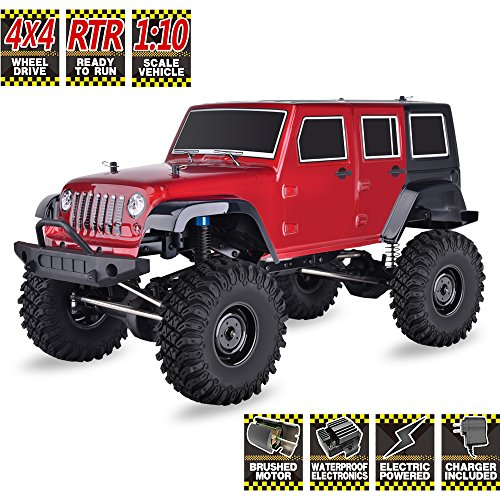 HSP RC Crawlers RTR 1/10 Scale 4wd Off Road Monster Truck Rock Crawler 4x4 High Speed Waterproof Rc Car