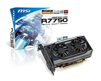 Amazon.com: MSI ATI Radeon HD7750 OC 1 GB ddr5 DVI/HDMI ...