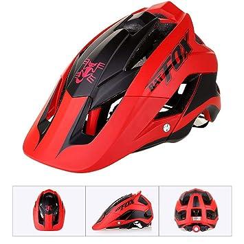 Biback Casco de Montar Casco de protección Casco de Bicicleta Casco de Seguridad Deportivo Todos Cascos