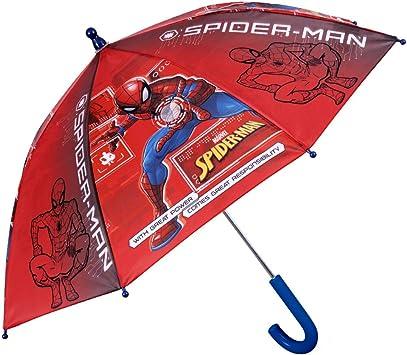 Paraguas Spiderman Niño - Paraguas Infantil Marvel Spider Man ...