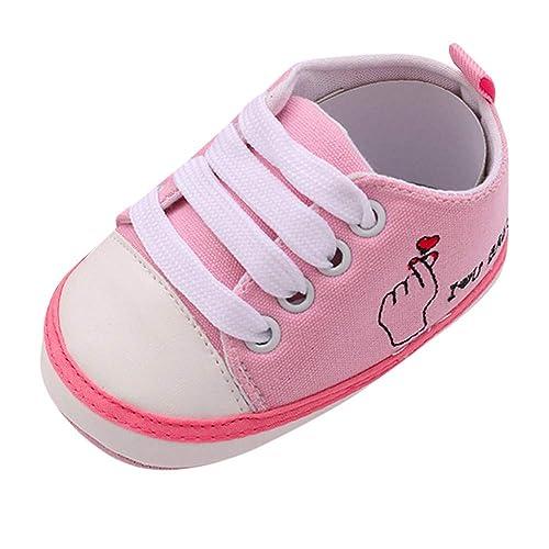 26a1e5da3df9b8 Kobay Kinder Schuhe Kleinkind-Schuhe Anti-Rutsch-weiche Feste  Segeltuch-Schuhe (