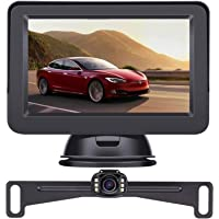 LeeKooLuu 2020 HD Backup Camera and Monitor Kit OEM Driving Hitch Rear/Front View Observation System for Cars,Trucks…