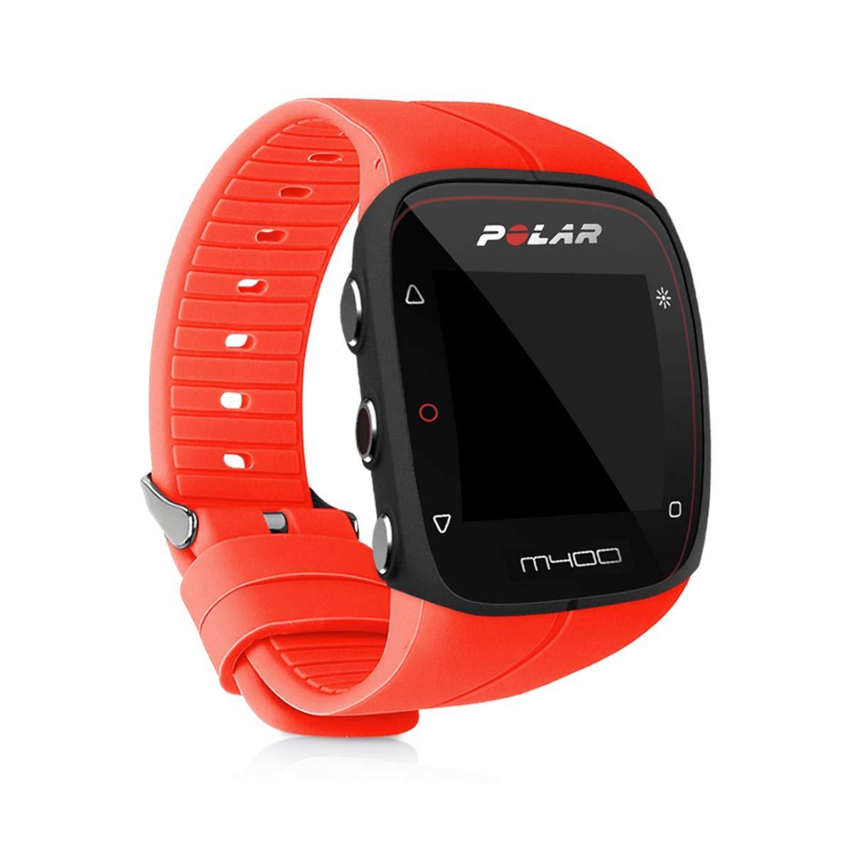 kwmobile Pulsera para Polar M400 / M430 - Brazalete de Silicona en Rojo sin Fitness Tracker