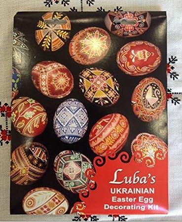 Amazon.com: Super Color Kit for Decorating Ukrainian Easter Eggs ...