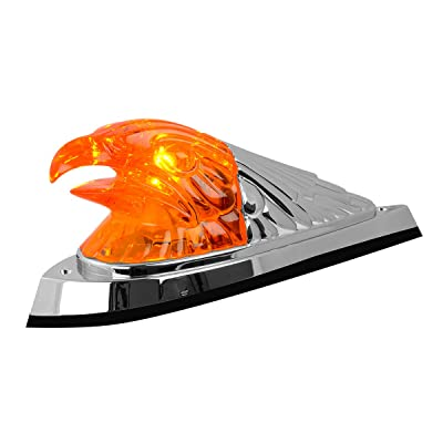 Grand General 81210 Marker Light (Amber Large Eagle Head Cab): Automotive
