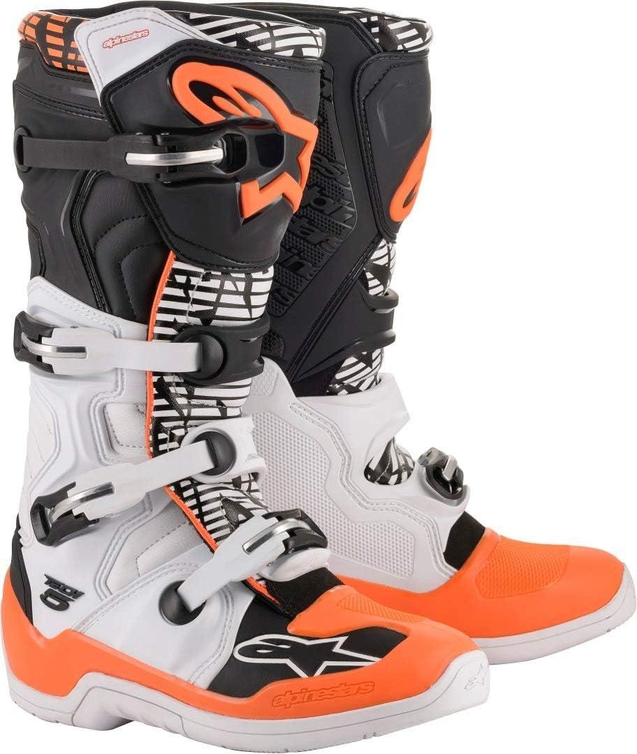 Alpinestars Motocross-Stiefel Tech 5 Schwarz Gr 44.5