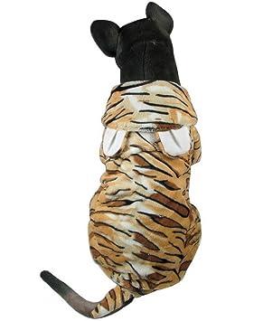 Zunea Disfraz de tigre para perro, para perros grandes y ...
