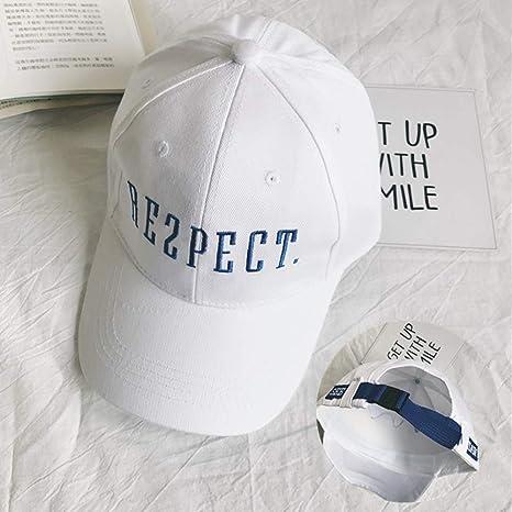AIOEJP Gorra de algodón bordada con letra Harajuku Gorra de ...