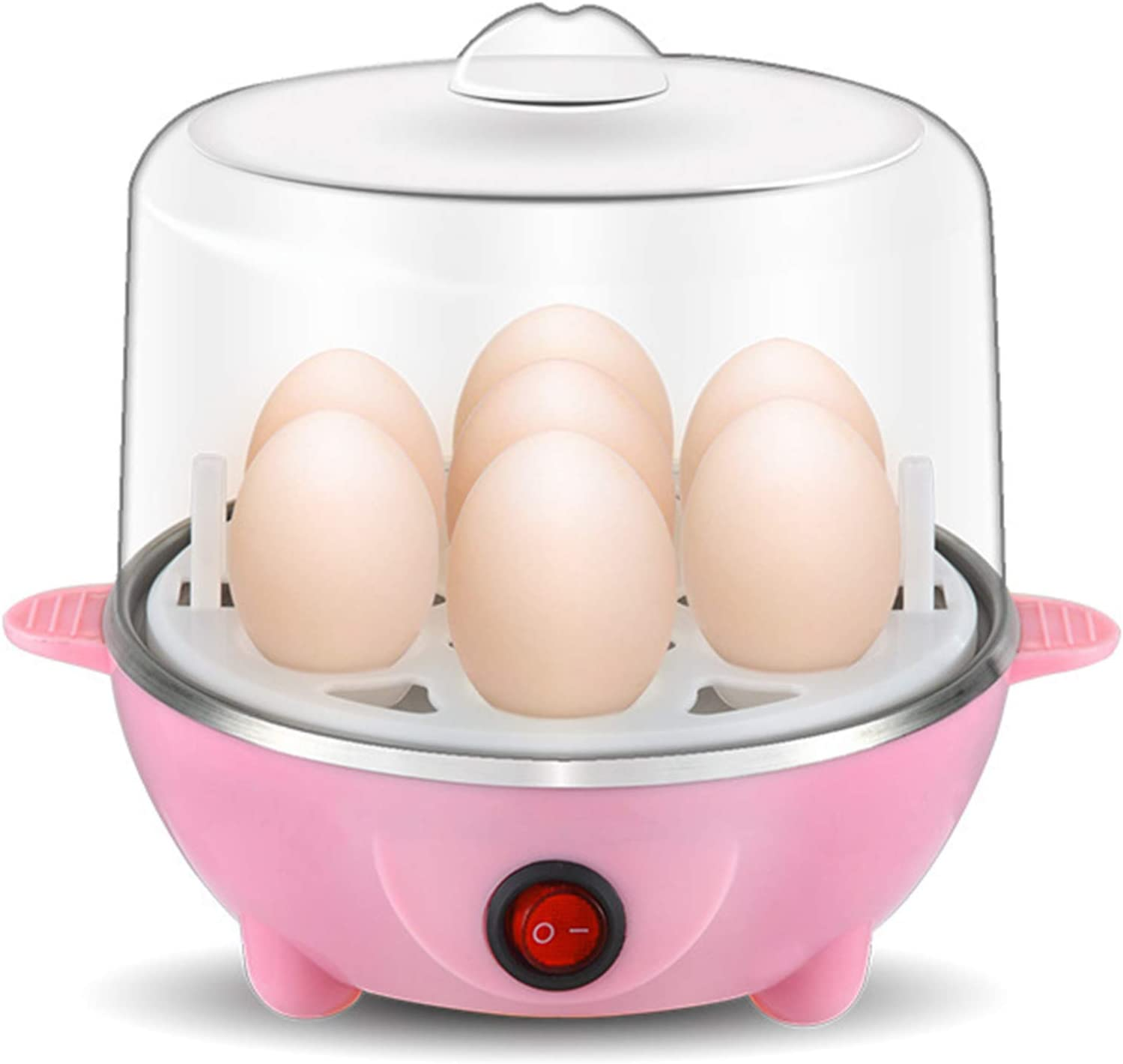 XIONGGG Egg Cooker Electric Egg Boiler, Soft, Medium Or Hard Boil, 7 Egg Capacity, Automatic Shut Off, Measuring Cup Included
