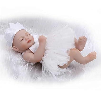 Soft Fashion Lifelike Reborn Nurturing Baby Dolls 10 Inch Mini Realistic  Newborn Babies Full Silicone Vinyl 2a05a6c4f1