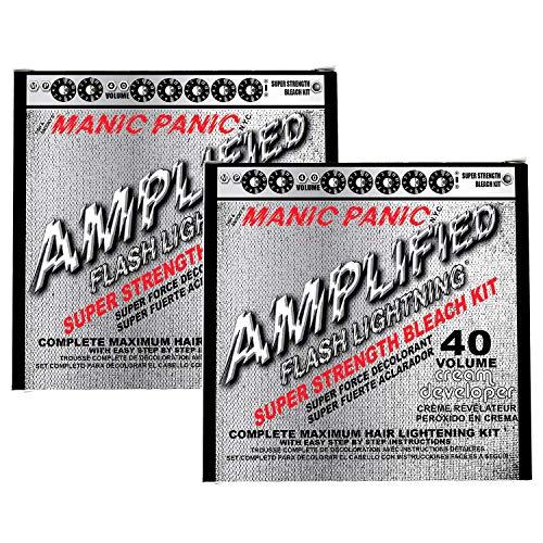 Manic Panic 40 Vol Lightning Hair Bleach Kit 2PK 1