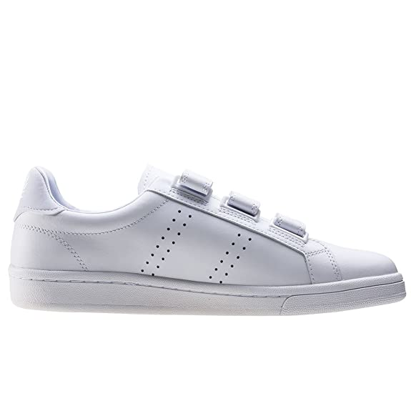 6d7e0cbce61d82 Amazon.com  Fred Perry B721 Strap Leather Sneaker  Shoes