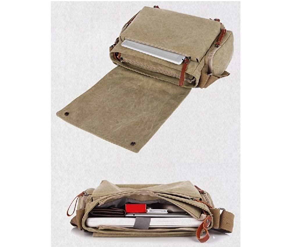 Ourdoor Activities TSC Canvas Messenger Cross body bag Organizer for Travel