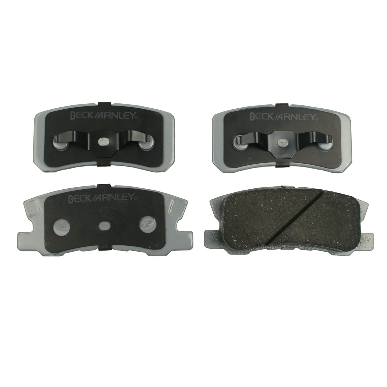Beck Arnley 085-1680 Premium ASM Brake Pad