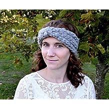 Knitting Pattern, Easy Headband Knit Pattern Kit, Quick Knit, Women's Headband (Frosty Deep Green)