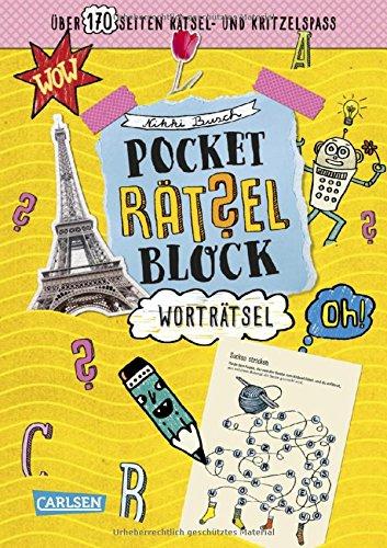 Pocket-Rätsel-Block: Wort-Rätsel: 100% Rätselspaß für deine Tasche