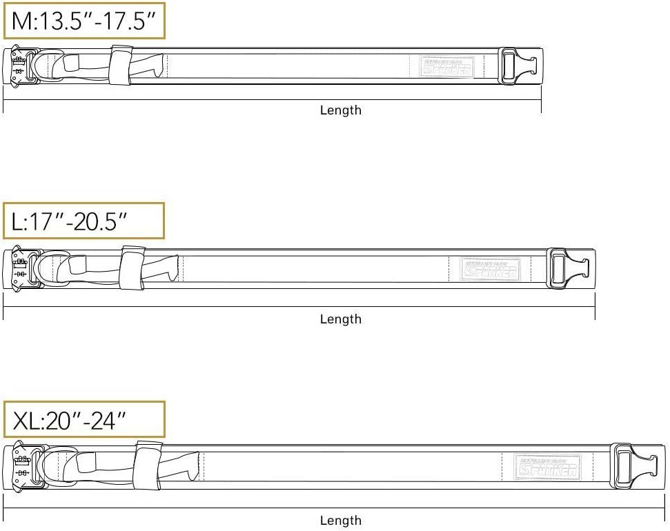 EXCELLENT ELITE SPANKER Hundehalsband Training Nylon verstellbar mit Kontrollgriff Nackeng/ürtel f/ür Hunde