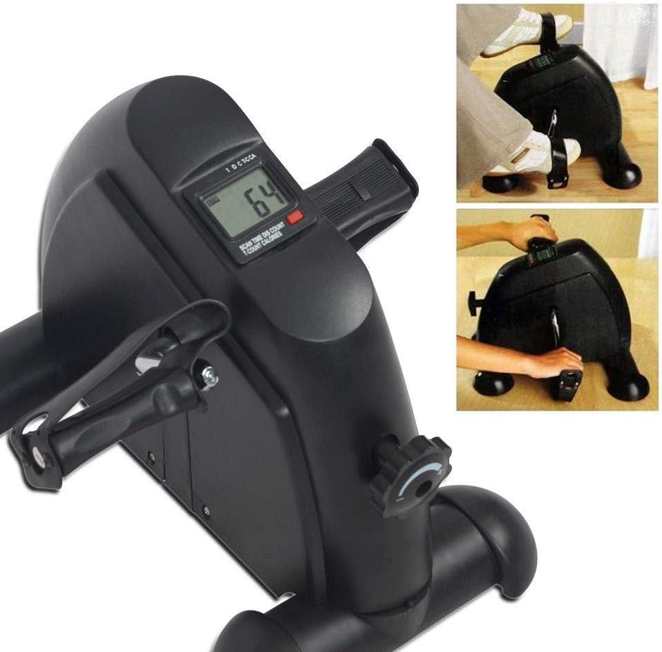 Pedal Exerciser,Station/äre /Übungsbeinpedale,Low Impact,tragbares Mini-Fahrrad f/ür Ihren Schreibtisch kleines Design f/ür Arm oder Fu/ß,Dauerhaft Bein und Arm Rettungsger/ät f/ür medizinische /Übungen