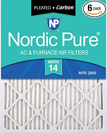 Nordic Pure 18x30x1 MERV 11 Pleated AC Furnace Air Filters 3 Pack