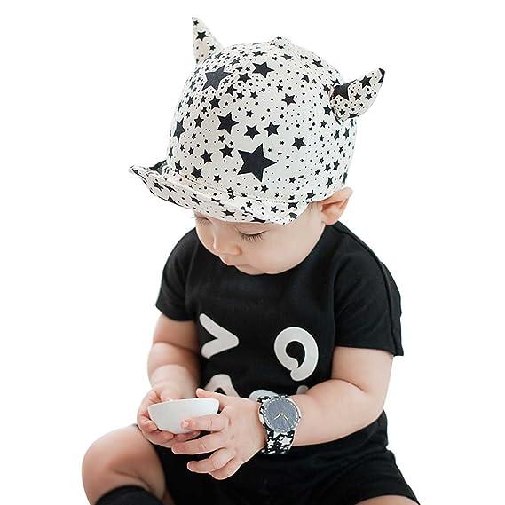 Marca west Unisex Baby Kid Child Toddler Boy Girl Safari Baseball Sun  Protection Beanie Cap Hat  Amazon.in  Clothing   Accessories 941b928a3404