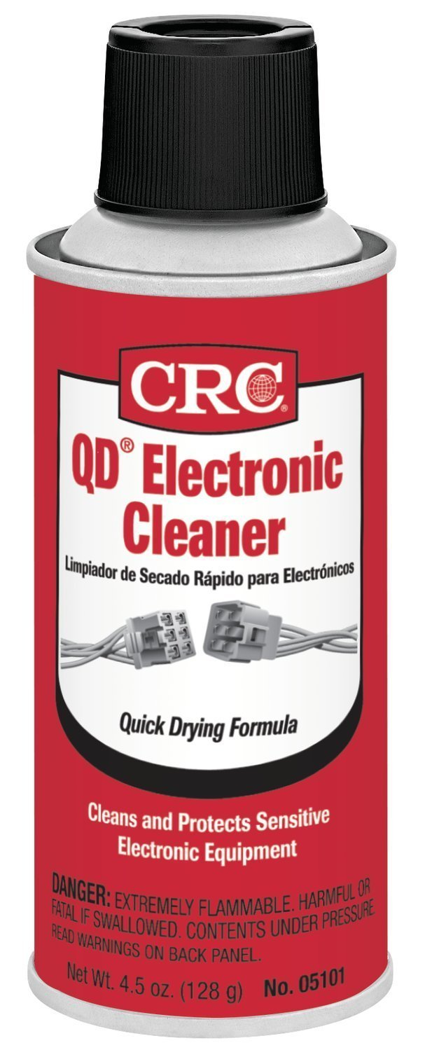 CRC 05101 QD Electronic Cleaner - 4.5 Wt Oz. (Quantity 6)
