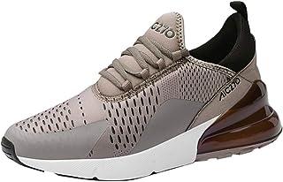 Kinlene Chaussures De Running Plates Athletic De Loisirs pour Hommes, Baskets AntidéRapantes LéGèRes Chaussures De Sport Confortables pour Hommes, sans Odeur Baskets AntidéRapantes LéGèRes Chaussures De Sport Confortables pour Hommes