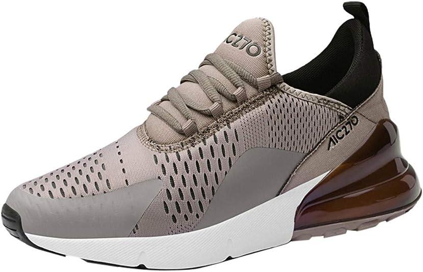 Makalon 270 Zapatillas de Running Deportivas para Hombre Casual Moda ^ C270 Marrón Size: 43 EU: Amazon.es: Zapatos y complementos