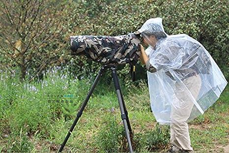 Rolanpro Regenschutz Regenmantel Für Teleobjektiv Elektronik