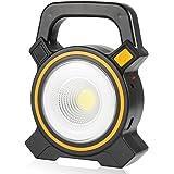 Coquimbo USB Ricaricabile Solare Lampada da Lavoro, Portatile luce da lavoro COB LED torcia 30W officina lampada luce ispezione torcia lampada lanterna per Auto Domestico Campeggio e Emergenza
