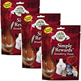 Oxbow Simple Rewards Treats Rabbit Guinea Pig