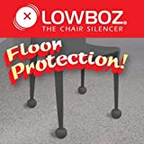 Lowboz | Floor Protection - 1 Chair Pack / GRAY