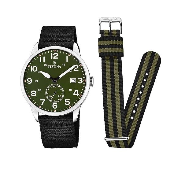 Festina Reloj de Pulsera F20347 2  Amazon.es  Relojes 87f217c576f0