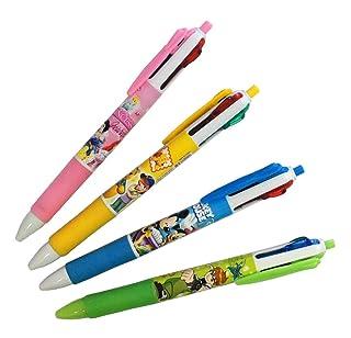 HAND Multicolore Pen No.885 bambini retrattile a sfera 4 colori Penna Colori assortiti - Confezione da 4 Well Made Tools