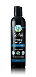 Organic Hair Gel by Herbal Choice Mari; 8 Fl Oz