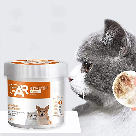 SimpleMfD Toallitas de aseo para mascotas Almohadilla de limpieza ...