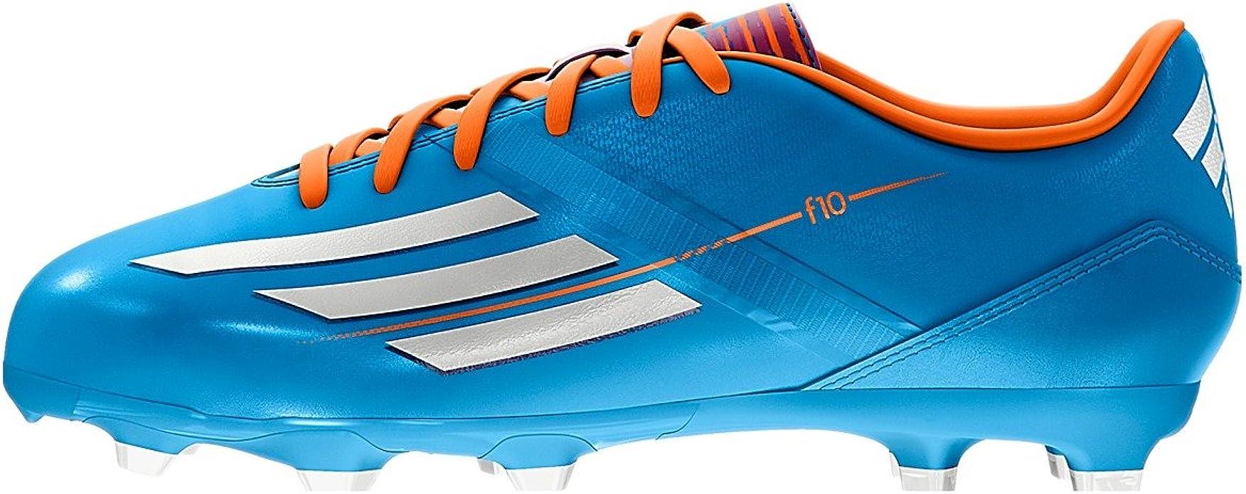 adidas F10 TRX FG Soccer Cleats - Blue