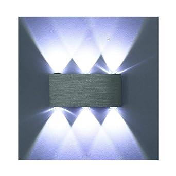 Lightess 6W LED Wandleuchte Innen Modern Wandlampe Up and Down aus ...