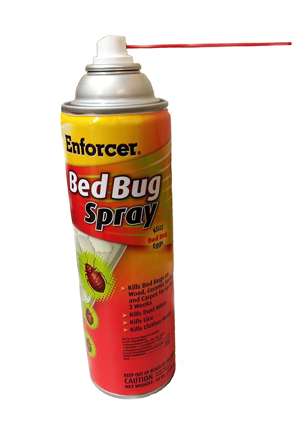 Amazon.com : EBBK14 - Enforcer Bed Bug Spray; Kills Bed Bugs, Dust Mites, Lice, Moths, and Bed Bug Eggs : Garden & Outdoor