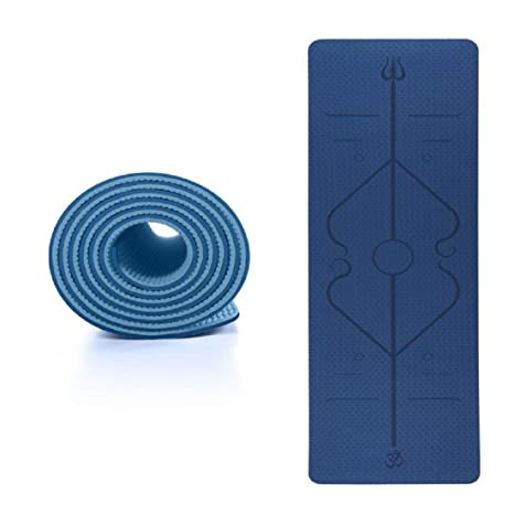 Amazon.com: VQP Gymnastics Mats TPE Yoga Mat with Position ...