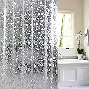 Amazon Com 15 Gauge Nontoxic Eva Shower Curtain Anti