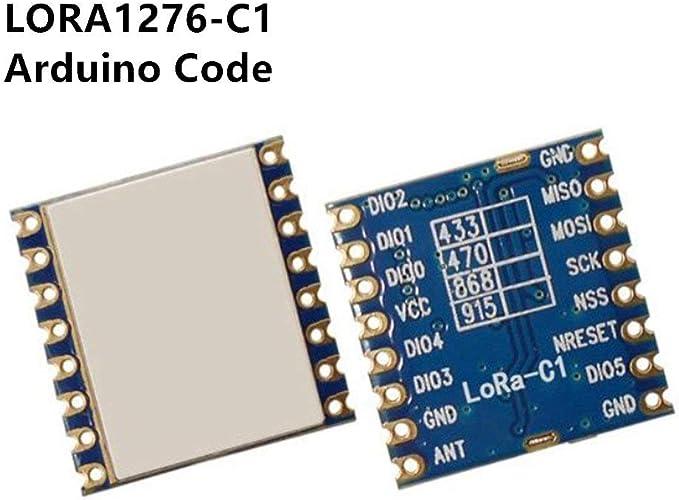 2Pcs 3Km 433Mhz SX1278 Lora Long-Distance Wireless Data Transmission Module nc