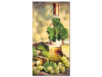 GRAZDesign 100268_001_01_04 Acrylglas Wandbild Mit Spruch Via Blanco Und  Weinflasche | Küchen Bild Als Wand