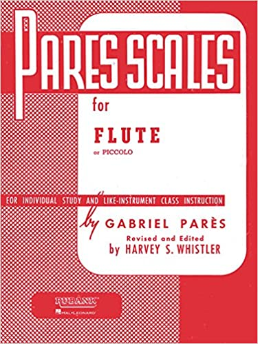 Book Pares Scales: Flute or Piccolo