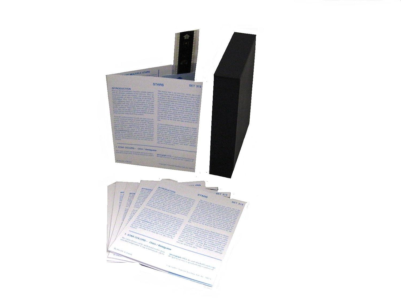 Box of 15 T-313-15B American Educational Microslide Stars Lesson Set