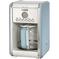 Ariete 1342 1342Bl Vintage Kahve Makinesi, 2000 W, 2.1L, 12 Fincan Kapasiteli, Mavi